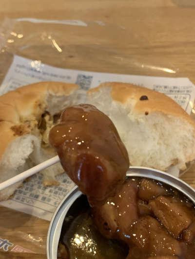 伊藤製パン ホテイフーズ やきとりパン 缶詰